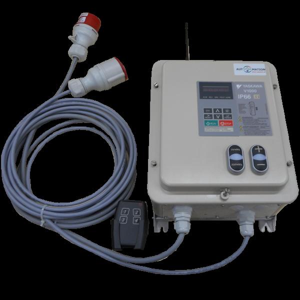 IP66 FU mit Funkfernsteuerung 1,5 kW